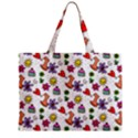 Doodle Pattern Zipper Mini Tote Bag View2