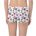 Doodle Pattern Reversible Boyleg Bikini Bottoms View2