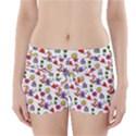 Doodle Pattern Boyleg Bikini Wrap Bottoms View1