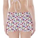 Doodle Pattern Boyleg Bikini Wrap Bottoms View2