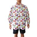 Doodle Pattern Wind Breaker (Kids) View1