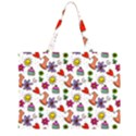 Doodle Pattern Large Tote Bag View1