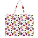 Doodle Pattern Large Tote Bag View2