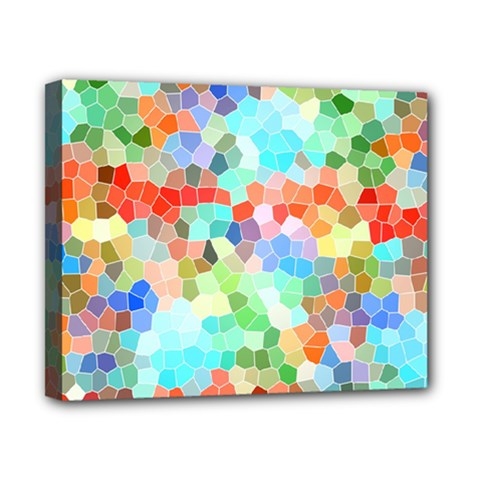 Colorful Mosaic  Canvas 10  x 8