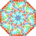 Colorful Mosaic  Folding Umbrellas View1