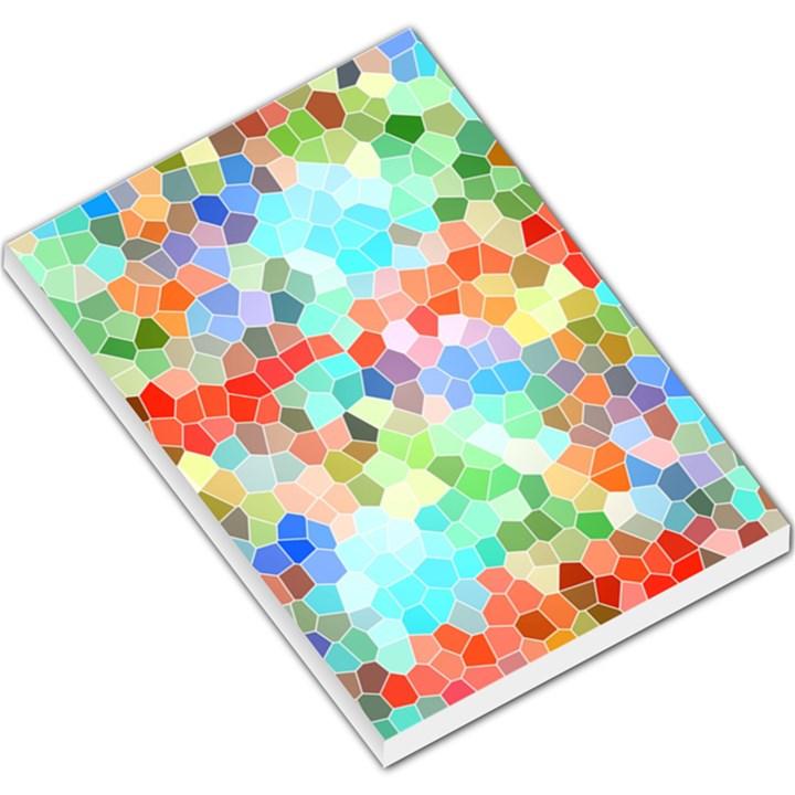 Colorful Mosaic  Large Memo Pads