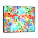 Colorful Mosaic  Deluxe Canvas 20  x 16   View1