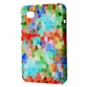 Colorful Mosaic  Samsung Galaxy Tab 7  P1000 Hardshell Case  View3