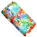Colorful Mosaic  Samsung Galaxy Note 2 Hardshell Case View5