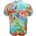 Colorful Mosaic  Men s Cotton Tee View2