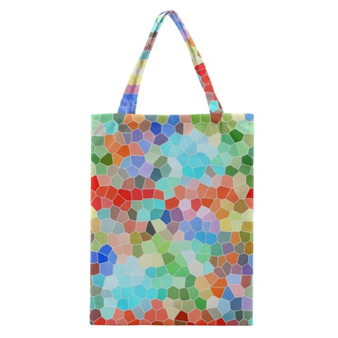 Colorful Mosaic  Classic Tote Bag
