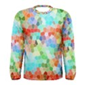Colorful Mosaic  Men s Long Sleeve Tee View1