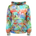 Colorful Mosaic  Women s Pullover Hoodie View1