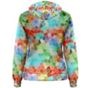 Colorful Mosaic  Women s Pullover Hoodie View2