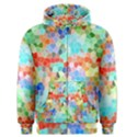 Colorful Mosaic  Men s Zipper Hoodie View1
