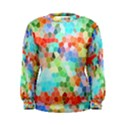 Colorful Mosaic  Women s Sweatshirt View1
