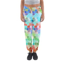 Colorful Mosaic  Women s Jogger Sweatpants