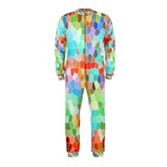 Colorful Mosaic  Onepiece Jumpsuit (kids)