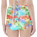 Colorful Mosaic  High-Waisted Bikini Bottoms View2