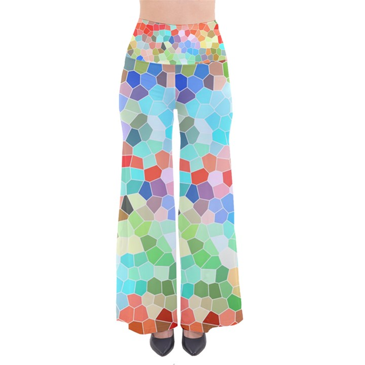 Colorful Mosaic  Pants