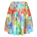 Colorful Mosaic  High Waist Skirt View2