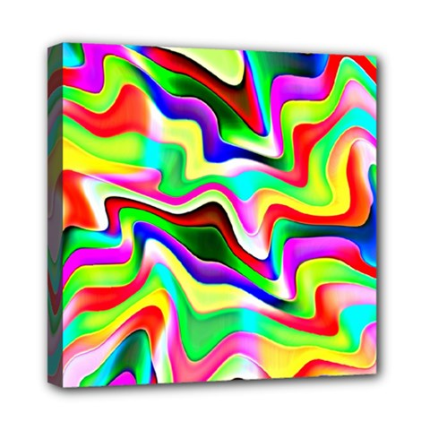Irritation Colorful Dream Mini Canvas 8  X 8