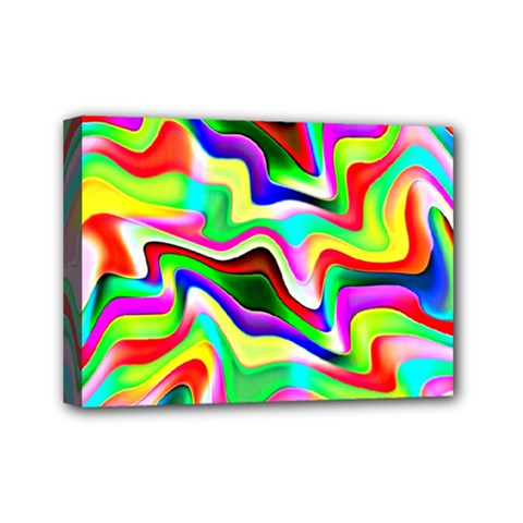 Irritation Colorful Dream Mini Canvas 7  X 5