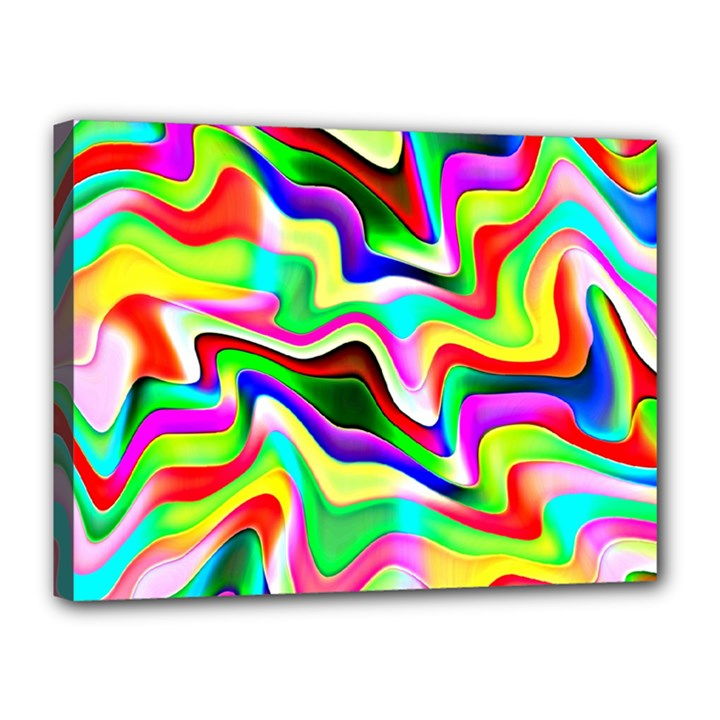 Irritation Colorful Dream Canvas 16  x 12