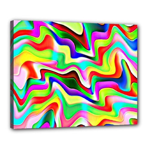 Irritation Colorful Dream Canvas 20  X 16