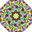 Irritation Colorful Dream Folding Umbrellas View1