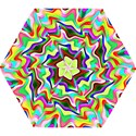Irritation Colorful Dream Mini Folding Umbrellas View1
