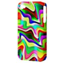 Irritation Colorful Dream Apple iPhone 4/4S Hardshell Case (PC+Silicone) View3
