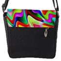 Irritation Colorful Dream Flap Messenger Bag (S) View1