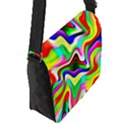 Irritation Colorful Dream Flap Messenger Bag (S) View2