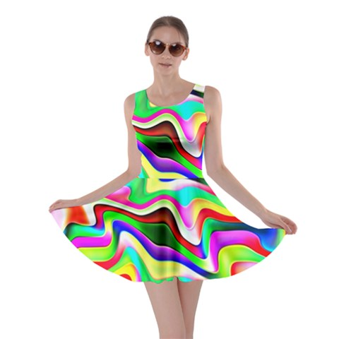Irritation Colorful Dream Skater Dress