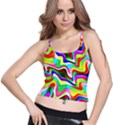 Irritation Colorful Dream Spaghetti Strap Bra Top View1