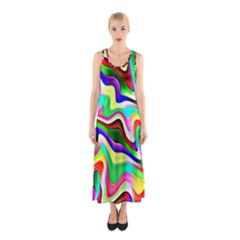 Irritation Colorful Dream Sleeveless Maxi Dress