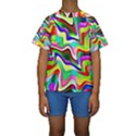 Irritation Colorful Dream Kids  Short Sleeve Swimwear View1