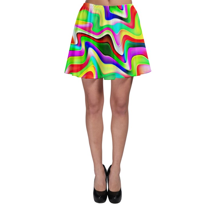Irritation Colorful Dream Skater Skirt