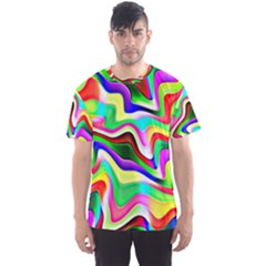 Irritation Colorful Dream Men s Sport Mesh Tee