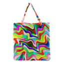 Irritation Colorful Dream Grocery Tote Bag View1
