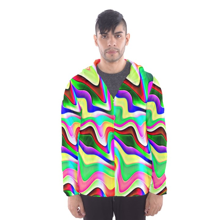 Irritation Colorful Dream Hooded Wind Breaker (Men)