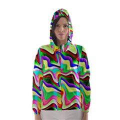 Irritation Colorful Dream Hooded Wind Breaker (women)