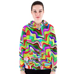 Irritation Colorful Dream Women s Zipper Hoodie