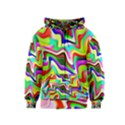 Irritation Colorful Dream Kids  Zipper Hoodie View1