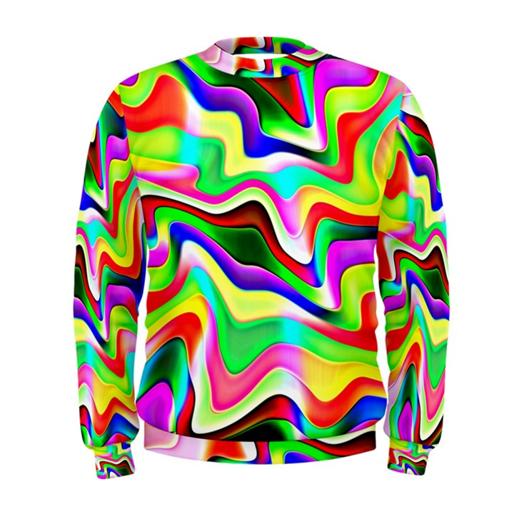 Irritation Colorful Dream Men s Sweatshirt