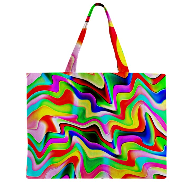 Irritation Colorful Dream Zipper Mini Tote Bag
