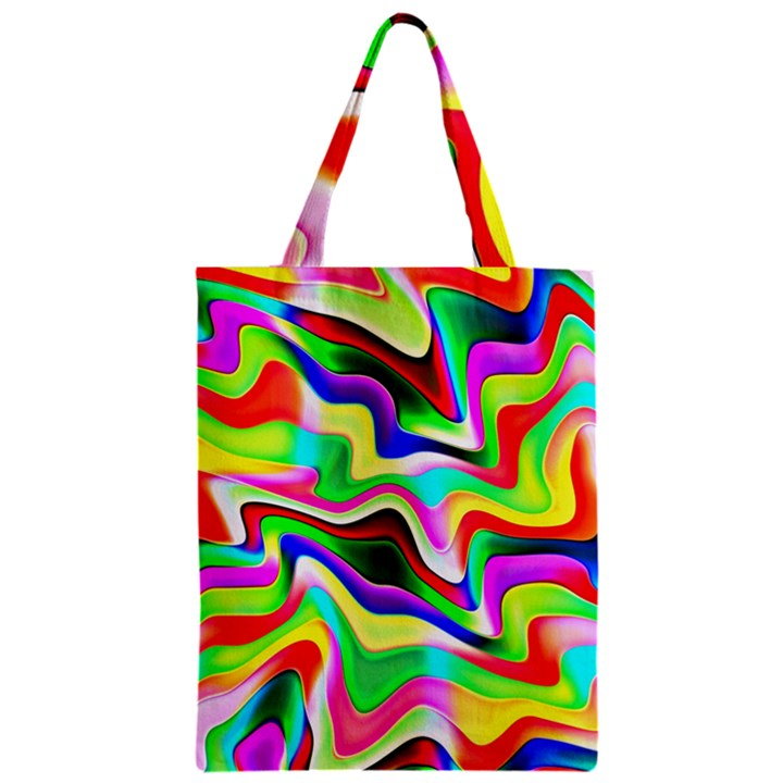 Irritation Colorful Dream Zipper Classic Tote Bag