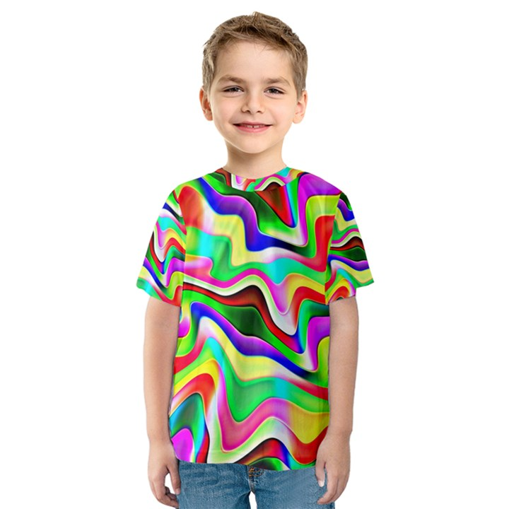 Irritation Colorful Dream Kids  Sport Mesh Tee
