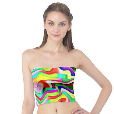 Irritation Colorful Dream Tube Top